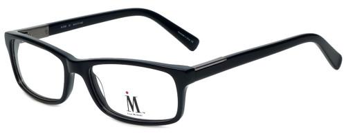 Isaac Mizrahi Designer Reading Glasses M500-01 in Black 54mm