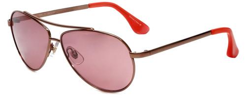 Isaac Mizrahi Designer Sunglasses IM16-71 in Rose Gold with Pink Lens