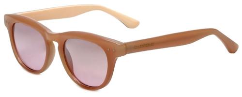 93359c01551 Isaac Mizrahi Designer Sunglasses IM7-71 in Blush with Rose Lens