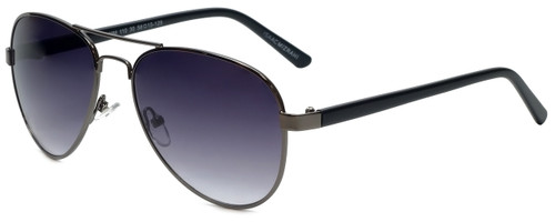 dd5db6398e Isaac Mizrahi Designer Sunglasses IMM110-30 in Gunmetal with Purple Lens