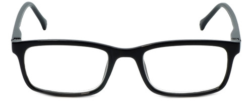 VIP M Readers Designer Reading Glasses 105-SBLK in Black 52mm