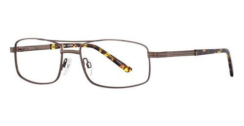 Dale Earnhardt, Jr. 6776 Designer Reading Glasses in Brown