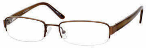 Marc Hunter 7222 in Brown Designer Reading Glasses