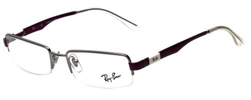 64fe8d2f5b Ray-Ban Designer Eyeglasses RB6156-2628 in Gunmetal Purple 50mm    Rx  Single Vision