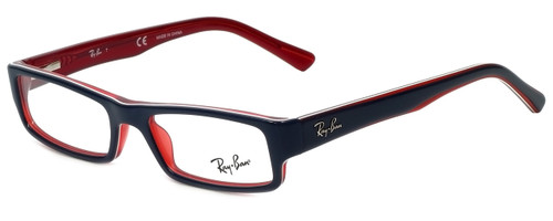 Ray-Ban Designer Reading Glasses RB5246-5088-50 in Navy and Red 50mm