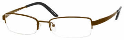 Marc Hunter 7408 in Brown Designer Reading Glasses