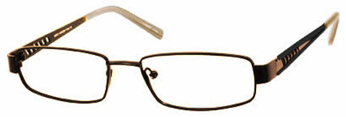 Marc Hunter 7416 in Brown Designer Reading Glasses