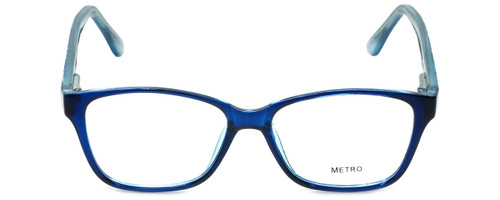 Metro Designer Eyeglasses Metro-23-Blue in Blue 47mm :: Progressive