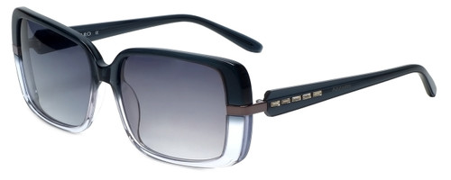 Azzaro Designer Sunglasses AZ4382-C3 in Slate Crystal Gradient 56mm