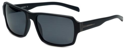 Azzaro Designer Polarized Sunglasses AZ4383-C3 in Matte Black 58mm