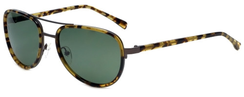 Azzaro Designer Polarized Sunglasses AZ4404-C2 in Yellow Tortoise 57mm