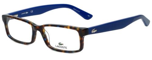 Lacoste Designer Eyeglasses L2685-215 in Blue Havana 53mm :: Rx Single Vision