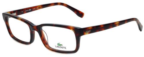 Lacoste Designer Eyeglasses L2725-215 in Dark Havana 54mm :: Rx Single Vision