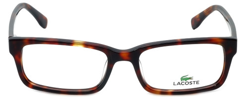 Lacoste Designer Eyeglasses L2725-215 in Dark Havana 54mm :: Rx Single Vision