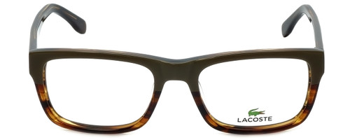 Lacoste Designer Eyeglasses L2740-318 in Military Green 53mm :: Rx Single Vision