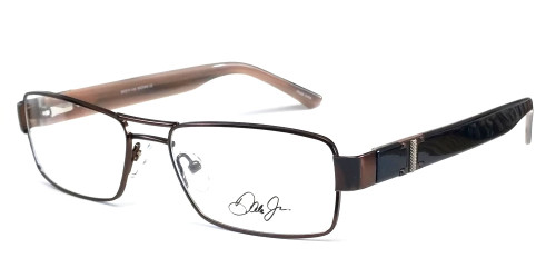 Dale Earnhardt, Jr. 6727 Designer Reading Glasses in Brown