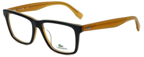 Lacoste Designer Reading Glasses L2769-001 in Black Butterscotch 54mm