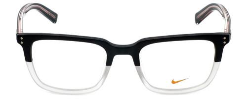 Nike Designer Reading Glasses Kevin Durant 37KD-010 in Matte Black Crystal Clear 52mm