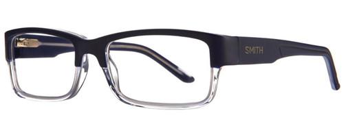 Smith Optics Designer Eyeglasses Rhodes in Blue Crystal 56mm :: Custom Left & Right Lens