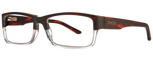 Smith Optics Designer Eyeglasses Rhodes in Matte Havana Crystal 54mm :: Custom Left & Right Lens