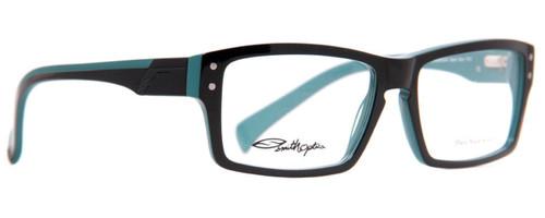 b7c37bfe4bf Smith Optics Designer Reading Glasses Wainwright in Black Blue 55mm