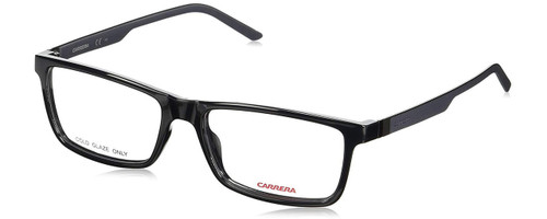 Carrera Designer Eyeglasses CA8818-0F3I-53 in Black 53mm :: Custom Left & Right Lens
