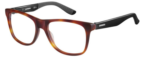 Carrera Designer Eyeglasses CA8814-06VL in Havana Matte Black 53mm :: Rx Bi-Focal