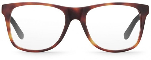 Carrera Designer Eyeglasses CA8814-06VL in Havana Matte Black 53mm :: Rx Bi-Focal