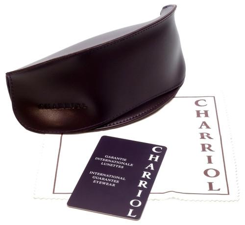 Charriol Designer Sunglasses in Tortoise Frame & Amber Lens (PC8057-C2)