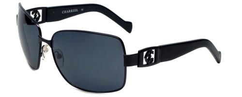 Charriol Designer Sunglasses in Black Frame & Grey Lens (PC8064-C1)