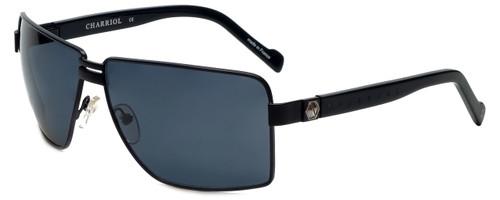 Charriol Designer Sunglasses in Black Frame & Grey Lens (PC8068-C1)