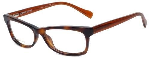 Hugo Boss Designer Eyeglasses BO0076-S2G in Havana Beige 52mm :: Rx Bi-Focal