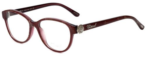 Chopard Designer Eyeglasses VCH160S-0AEG in Plum Lace 53mm :: Custom Left & Right Lens