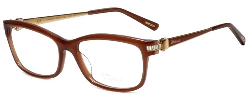 Chopard Designer Reading Glasses VCH139S-08YL in Brown 55mm