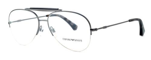Emporio Armani Designer Reading Glasses EA1020-3003 in Gunmetal 57 mm