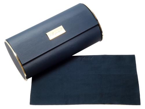 Chopard Designer Polarized Sunglasses SCHB83-627B in Matte Gunmetal with Blue Flash Lens