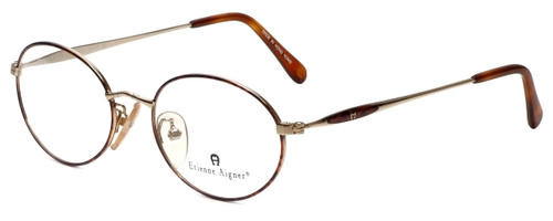 Etienne Aigner Designer Eyeglasses EA-3-2-51 in Demi Amber Gold 51mm :: Custom Left & Right Lens