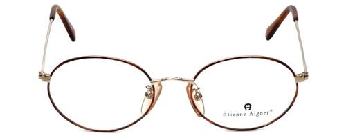 Etienne Aigner Designer Eyeglasses EA-3-2-49 in Demi Amber Gold 49mm :: Rx Bi-Focal