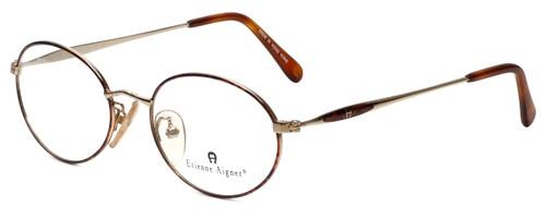 Etienne Aigner Designer Reading Glasses EA-3-2-51 in Demi Amber Gold 51mm