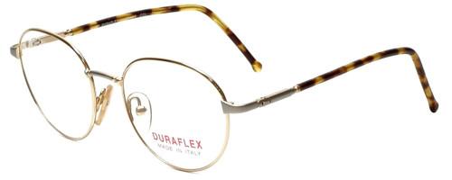 Duraflex Designer Eyeglasses Duraflex-1-Col-2 in Gold 50mm :: Custom Left & Right Lens
