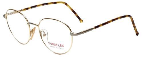 Duraflex Designer Reading Glasses Duraflex-1-Col-2 in Gold 50mm