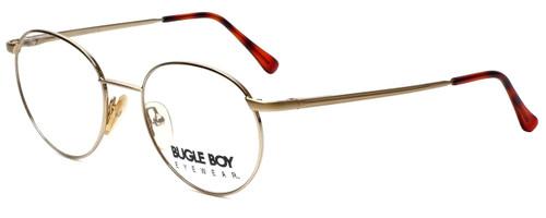 Bugle Boy Designer Eyeglasses Marine in Gold 48mm :: Custom Left & Right Lens