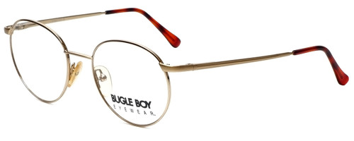 Bugle Boy Designer Eyeglasses Marine in Gold 48mm :: Progressive