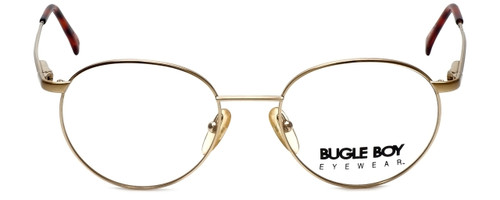 Bugle Boy Designer Eyeglasses Marine in Gold 48mm :: Progressive