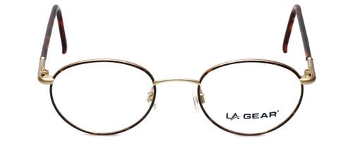 LA Gear Designer Eyeglasses Golden Gate in Amber 47mm :: Rx Bi-Focal