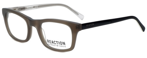 Kenneth Cole Designer Eyeglasses Reaction KC0788-020 in Grey 48mm :: Custom Left & Right Lens