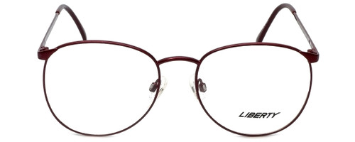 Liberty Optical Designer Eyeglasses LA-4C-7 in Antique Red 57mm :: Rx Bi-Focal