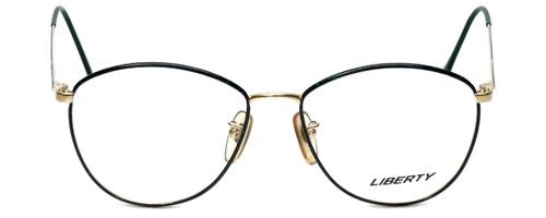 Liberty Optical Designer Reading Glasses Gina-958-5 in Demi Green Gold 55mm