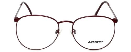 Liberty Optical Designer Reading Glasses LA-4C-7 in Antique Red 57mm