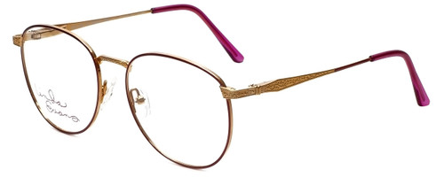 Linda Evans Designer Eyeglasses LE-169 in Burgundy 53mm :: Progressive
